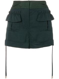 шорты с карманами карго  Carven