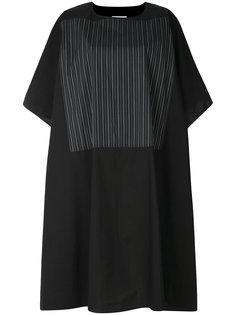 платье-футболка в полоску  Mm6 Maison Margiela