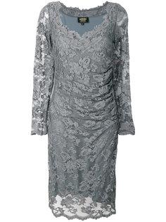 кружевное платье с V-образным вырезом  Olvi´S