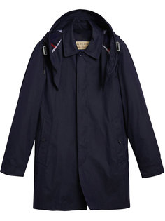 пальто со съемным капюшоном Burberry