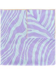 шарф с волнистым узором Roberto Cavalli