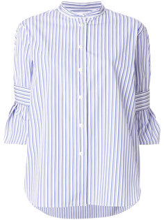 "рубашка в стиле ""casual"" с полосатым узором Odeeh"