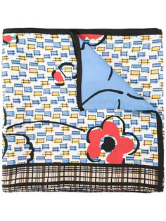 patterned scarf Marni