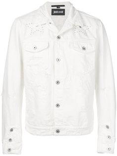 классическая джинсовая куртка Just Cavalli