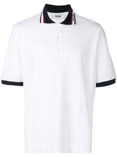 рубашка-поло с логотипом MSGM