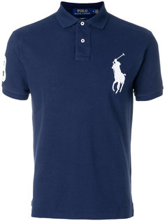 футболка-поло с вышивкой Big Pony Polo Ralph Lauren