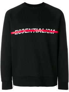 Essentialism sweatshirt Neil Barrett