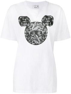 футболка с пинтом змей Marcelo Burlon County Of Milan