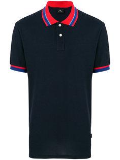 футболка-поло с контрастными пуговицами Ps By Paul Smith