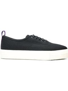 contrast pull tab sneakers Eytys