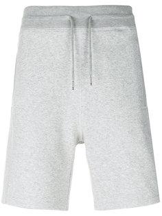 шорты с поясом на завязках Moncler Gamme Bleu