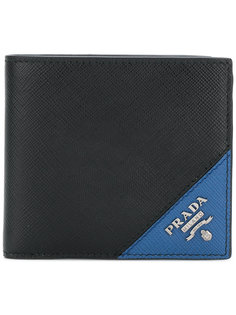 кошелек дизайна колор-блок Prada