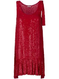 расклешенное платье с оборками  P.A.R.O.S.H.