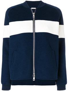 куртка колор-блок на молнии  P.A.R.O.S.H.