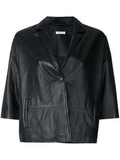 приталенная куртка с короткими рукавами P.A.R.O.S.H.