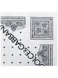 платок с логотипом  Dolce & Gabbana