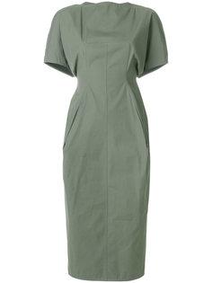 приталенное платье  Rick Owens