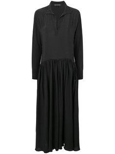 расклешенное платье макси  Ter Et Bantine