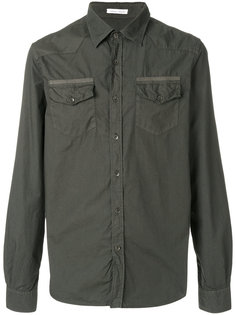 рубашка с нагрудными карманами Tomas Maier