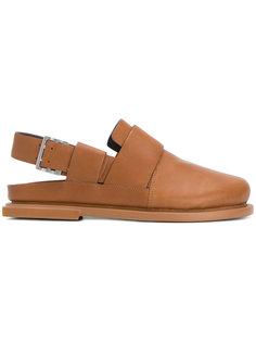 сандалии с открытой пяткой и ремешком с пряжкой Camper