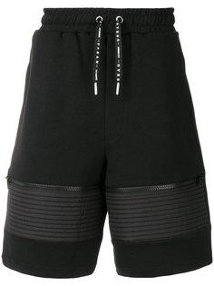 шорты с карманами на молнии Les Hommes Urban