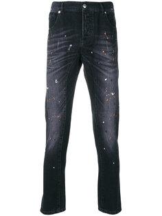 джинсы с потертой отделкой Les Hommes Urban