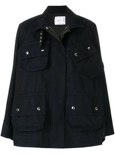 """куртка свободного кроя в стиле """"милитари"""" Sacai"""