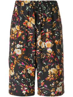 шорты с цветочным принтом McQ Alexander McQueen
