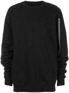 свитер с отделкой Rick Owens DRKSHDW