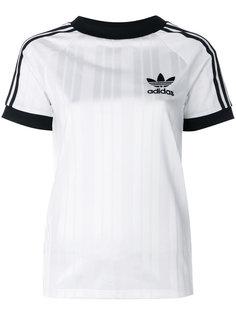 футболка с полосками по бокам Adidas