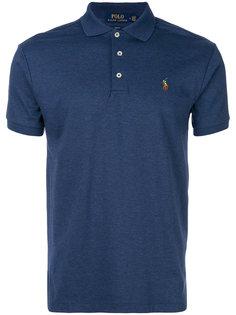 рубашка-поло с вышитым логотипом Polo Ralph Lauren