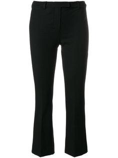 расклешенные укороченные брюки  S Max Mara