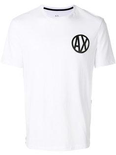 футболка с принтом логотипа Armani Exchange