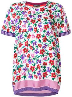 футболка с цветочным принтом  Salvatore Ferragamo