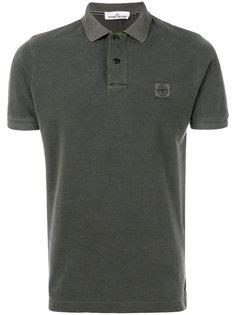 футболка-поло с вышивкой Stone Island