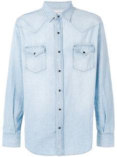 джинсовая рубашка Western Saint Laurent