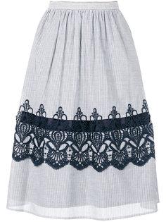 юбка с полосатым узором Steffen Schraut