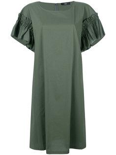 платье с оборками  Steffen Schraut