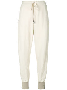 брюки со шнурком  Tom Ford