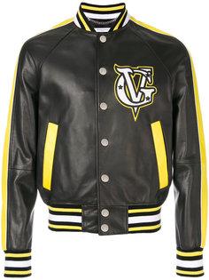 кожаная куртка-бомбер Givenchy