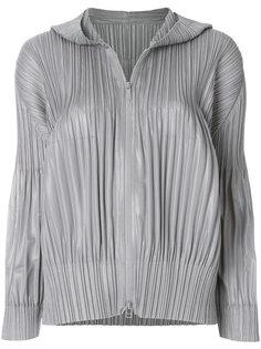 куртка с капюшоном Pleats Please By Issey Miyake