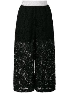 укороченные кружевные брюки  IM Isola Marras