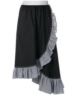 юбка миди с рюшами  IM Isola Marras