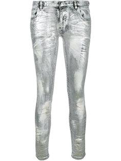 джинсы с эффектом металлик Faith Connexion