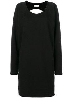 платье-толстовка с открытой спиной Faith Connexion