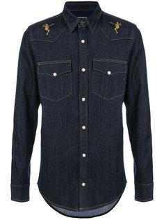 джинсовая рубашка Alexander McQueen