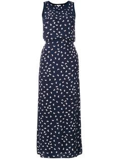 платье с принтом бабочек P.A.R.O.S.H.
