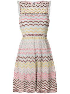 платье в шевронную полоску  M Missoni