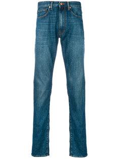 джинсы узкого кроя Incotex