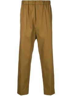 укороченные брюки с эластичной талией Jil Sander